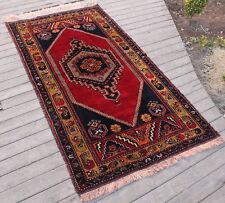 Turkish Rug 38''x72'' Hand Knotted Vintage Soft Wool Anatolian Carpet 97x185cm