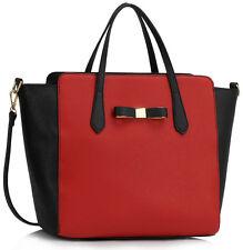Ladies Large Size Bow Bags Women's Shopper Shoulder Bag Handbags Fashion Tote 40