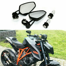 2Pcs Motorcycle Bar End Mirrors 7/8'' Motor Rear Side View Cafe Racer Universal