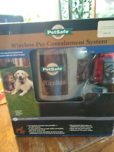 New PetSafe PIF-300 Wireless Fence Pet Containment System.us buyers only.