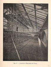 """PARIS """" COMPTOIR D' ESCOMPTE /  CONSTRUCTIONS MOISANT """" ILLUSTRATION V 1894"""