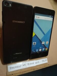 TELEPHONE PORTABLE FACTICE dummy smartphone N°B56-B3 STARADDICT w/HISENSE noir