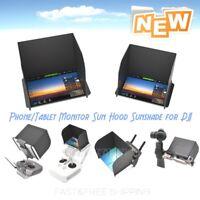 NEW Mobile/Tablet Sun Hood Sunshade for DJI Mavic Spark Phantom Inspire OSMO US