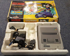 BOXED SUPER MARIO ALL STARS SNES SUPER NINTENDO CONSOLE SETUP TESTED FREE UK P&P