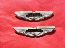 Genuine New ASTON MARTIN WINGS BONNET or BOOT BADGE Emblem DB9 4G43-407A74-BB