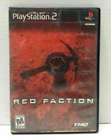 Red Faction Black Label (Sony PlayStation 2, 2002) PS2 Complete Free Shipping