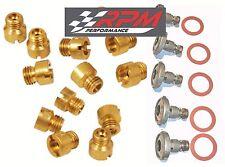 Holley Carburetor 1/4-32 MAIN JETS KIT 50-109 ANY SIZE 30 PACK & 5 POWER VALVES