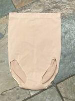 VINTAGE BALI Nude Small Hi Waist Hi Leg Shaper Briefs Panties NWOT #B197 B