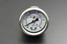 42mm 1.7 inch Fuel Pressure Regulator Gauge 0-150 Psi 0-10 Bar Liquid Filled