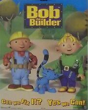 Bob The Builder 16x20 Can We Fix It Poster 2002 Cat