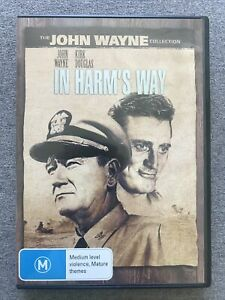 -DVD - IN HARM'S WAY - John Wayne Kirk Douglas -  Region 4 PAL