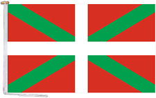 More details for basque spain flag with rope and toggle - various sizes