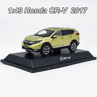 1:43 ORIGINAL Honda CR-V CRV 2017 SUV Diecast Model Car Collection Toy New InBox