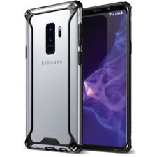 POETIC Affinity Premium Thin Corner Protection Case for Galaxy S9 Plus Black