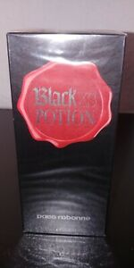 Black XS Potion PACO RABANNE 100ml EDT Spray Limited Edition Made in France neu
