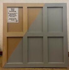 DIY MDF Wall panelling Shaker Style. 4'x4' kit 12mm Custom Sizes made to order.