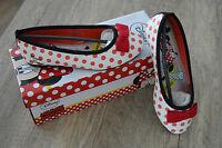 Disney Minnie Mouse Slipper Ballerinas Strandschuhe Halbschuhe Gr.28-35