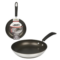 New Bialetti Stainless Steel Nonstick Fry Pan- 10""