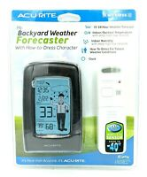 AcuRite Outdoor Wireless Humidity Temperature Weather Forecast Station *NEW
