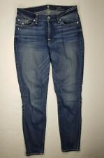 7 Seven For All Mankind Gwenevere Ankle Jeans 28 Skinny Womens