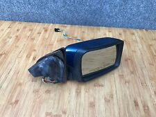 BMW OEM E53 X5 4.4I FRONT PASSENGER RIGHT SIDE EXTERIOR DOOR MIRROR BLUE