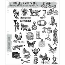 Tim Holtz Cling Stamps - Tiny Things set 2