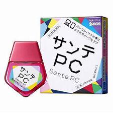 [SANTE] PC MAC Refreshing Eye Drops for Computer Mobile Users 12ml JAPAN NEW NIB