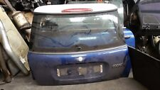 MINI COOPER 1.6 '05 REAR TAILGATE BOOTLID IN BLUE AND WHITE