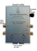 Bozak Madisson CLK-PH8 Phono Preamp Preamplifier Turntable Amplifier Pre-Amp DIN