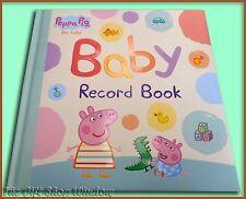 Libro Registro De Bebé Peppa Pig-Tapa Dura-Penguin Books-Regalo Perfecto-Nuevo