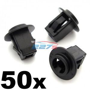 50x Plastic Screw Grommets for Nissan & Infiniti Wheel Arch Lining & Trims
