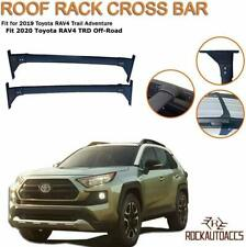 ROKEXUS Roof Rail Crossbars Fits 2019 2020 Toyota RAV4 Adventure TRD Off-Road