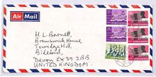 BQ56 1978 Indonesia Jakarta Devon Great Britain Airmail Cover {samwells} PTS