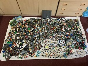 Job Lot Of Lego 11.3kg Bulk Box, Minecraft, City Etc Genuine