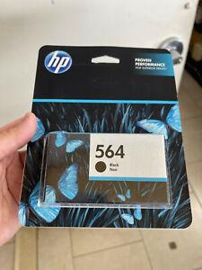 HP 564 Black Ink Cartridges New Genuine OEM EXP 05/2022 BRAND NEW SEALED