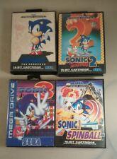 megadrive games bundle sonic the Hedgehog bundle x4