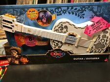 NEW Disney Pixar Mattel Coco Guitar, Lights up, 8 Chord Sounds Plays Remember Me