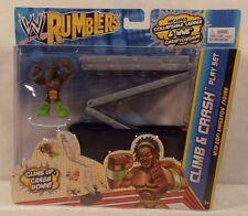 WWE Mattel Rumblers Ring Climb & Crash Playset With Kofi Kingston New Day MISP