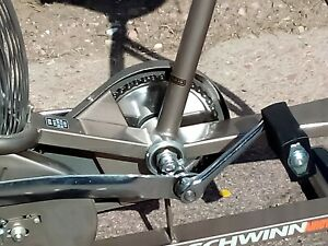Vintage Schwinn Airdyne Dual Action Exercise Bike Monitor Works Freight Shipping