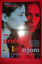 TALK TO HER 2002 PEDRO ALMODOVAR ROSARIO FLORES RARE SERBIAN MOVIE POSTER #1