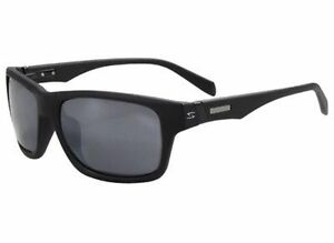 Serfas Hiline Sunglasses Matte Black With Grey polarized Lenses New