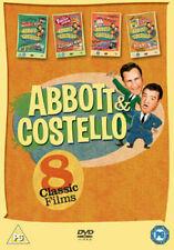 Abbott and Costello Collection 5050582843262 With Boris Karloff DVD Region 2