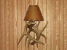Antler Sconce,Whitetail,lamps,rustic,primitive,whitetail,decor,lamps,chandelier