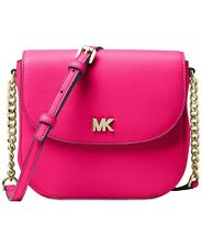 MICHAEL Michael Kors  Half Dome Crossbody Ultra Pink MSRP $148