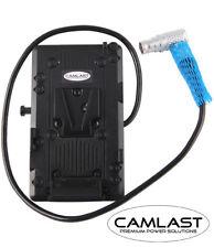 CAMLAST V-Mount Adapter Power Plate for ARRI ALEXA Mini Camera w/ 8 Pin Lemo