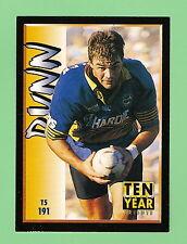 1994-2  PARRAMATTA  EELS  RUGBY LEAGUE  10 YEAR TRIBUTE CARD #191  PAUL DUNN