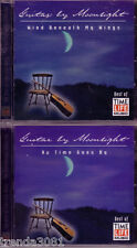Time Life Guitar By Moonlight 2CD Lot Wind Beneath my Wings Time Goes By Rare