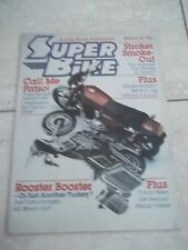 Superbike. March 1983. Funny Bikes. Rooster Booster. etc