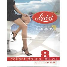 Stock Collant Liabel Estivo 8 DEN  - 7 paia - Taglia 2 (seconda)- Lotto 1