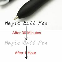 Sale Pen Ball Magic Ballpoint Pen One Hour Ink Disappear Slowly